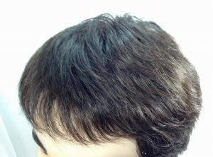 ヘアースタイル 前髪下ろした 画像